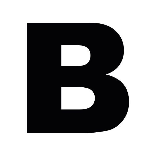 B Arial Black Zelfbeletteren
