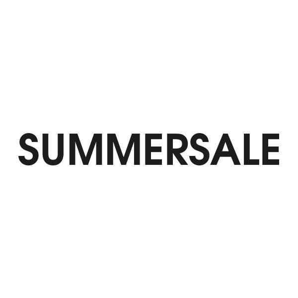 Bedrijfssticker   Summersale   Zwart