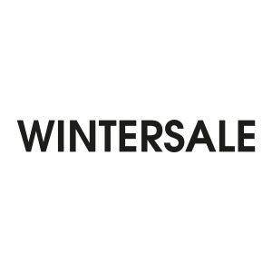 Bedrijfssticker | Wintersale | Zwart