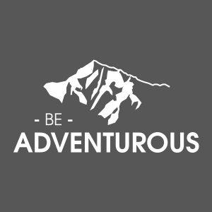Quotestickers | Be Adventurous | Wit