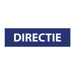 Bedrijfssticker | Directie | Blauw