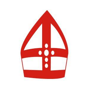 Sinterklaas stickers Mijter
