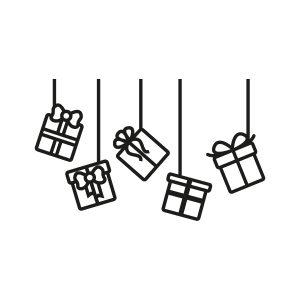 Sinterklaas stickers Pakjes