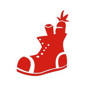 Sinterklaasstickers Schoen zetten
