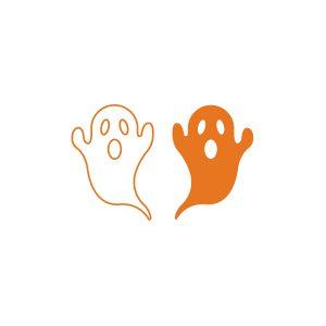 Halloweensticker Spookjes